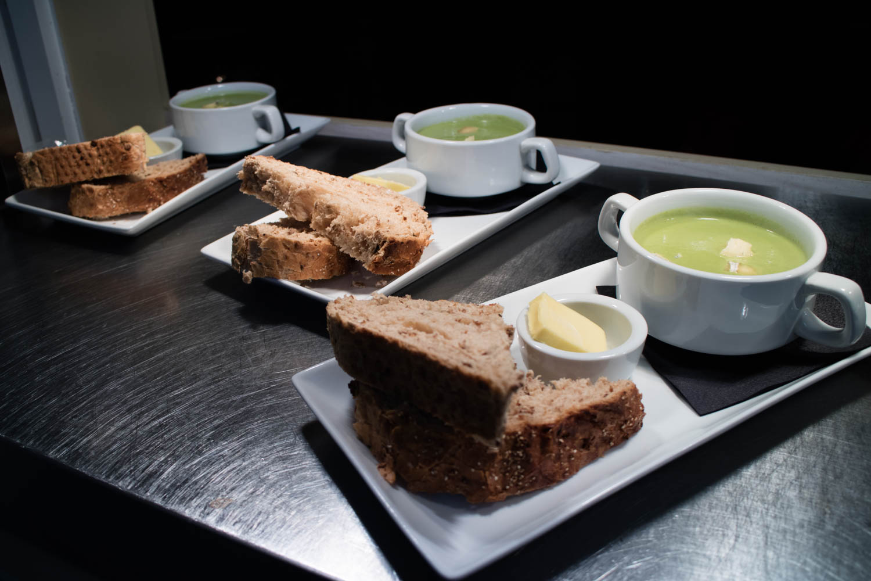 Food at the Forester Inn Graffham-5