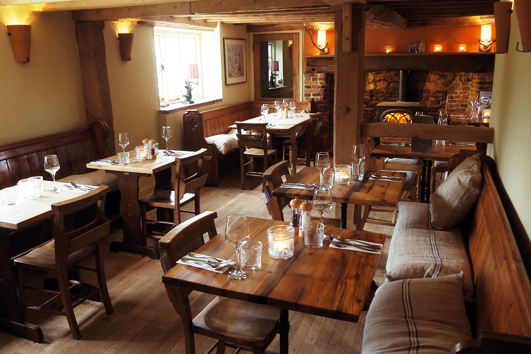 Foresters Arms Dinning Room after the upgrade