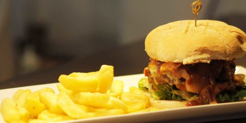 The Foresters Arms Burger